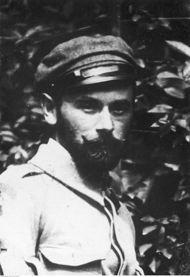 Edward Śmigły-Rydz, dowódca 1 Pułku Piechoty Legionów /Z archiwum Narodowego Archiwum Cyfrowego