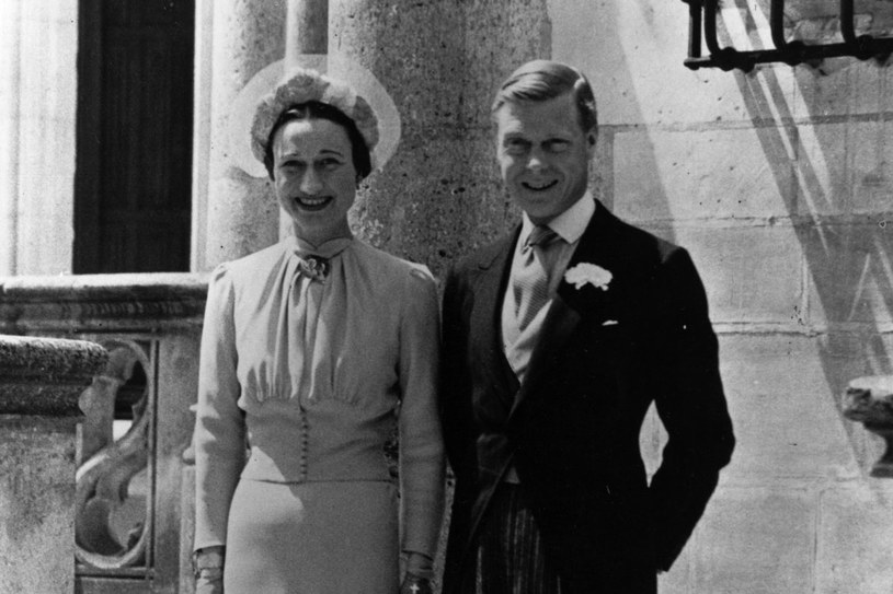 Edward Windsor i Wallis Simpson /Getty Images