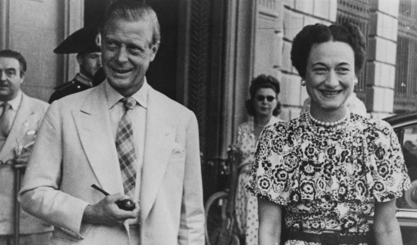 Edward Windsor z żoną Wallis Simpson /East News