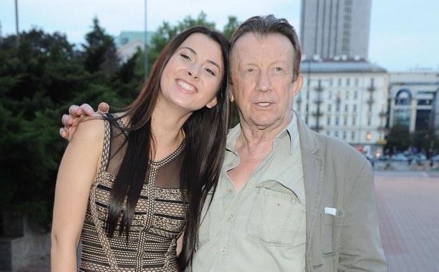 Edward z córką /- /MWMedia