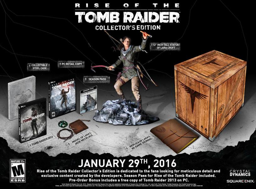 Edycja Kolekcjonerska Rise of the Tomb Raider, Square Enix /materiały prasowe