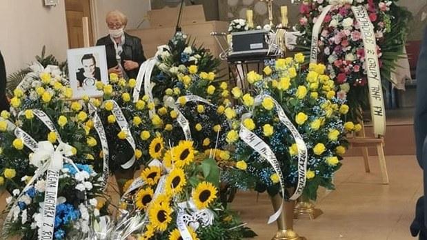 Edyta Bieńczak została pochowana na Cmentarzu Centralnym w Sanoku /RMF FM