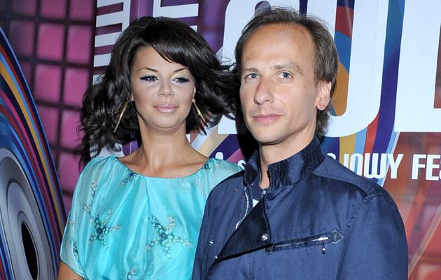 Edyta Górniak, Dariusz Krupa, fot.Andras Szilagyi  /MWMedia