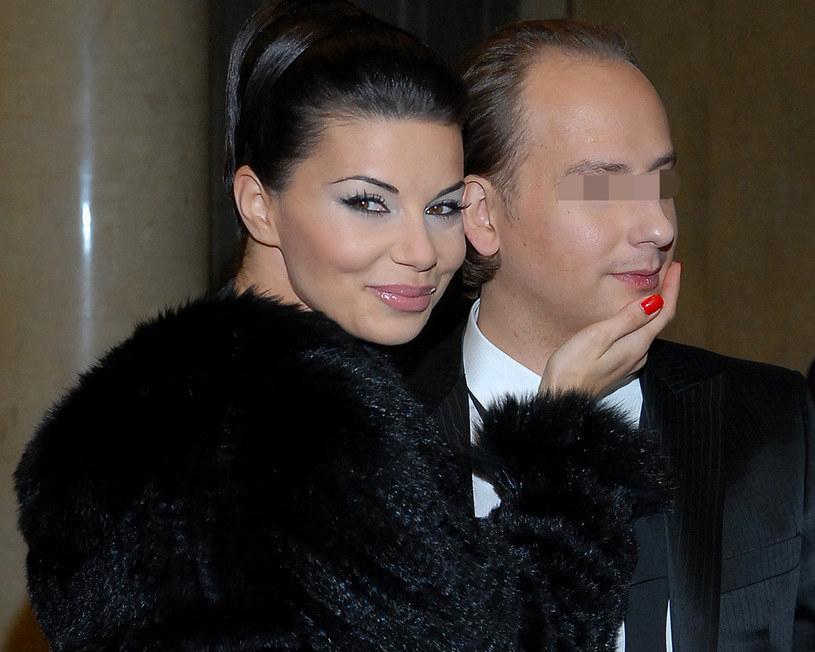 Edyta Górniak i Dariusz K., kiedy jeszcze byli małżeństwem /MWMedia