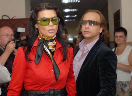 Edyta Górniak i Dariusz Krupa - fot. Andrzej Zbraniecki /Agencja SE/East News