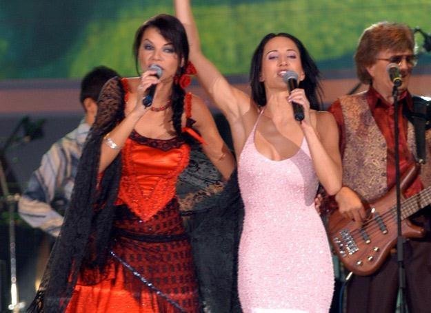 Edyta Górniak i Justyna Steczkowska wydadzą płyty w krótkim odstępie czasu (zdjęcie z 2003 roku) /AKPA