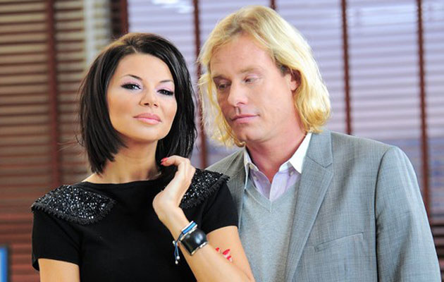 Edyta Górniak i Rinke Rooyens, fot. Wojciech Olszanka  /East News