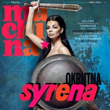 Edyta Górniak jako Syrenka /Machina
