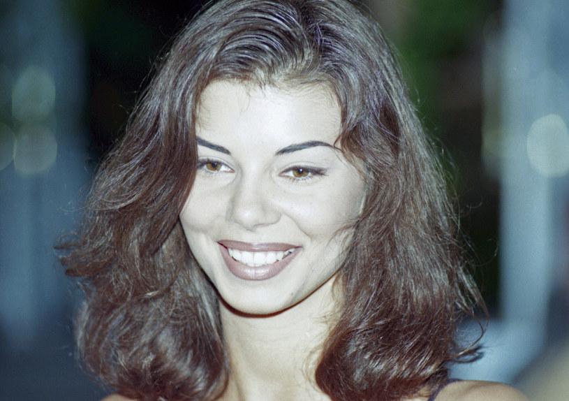 Edyta Górniak na zdjęciu w 1994 roku /Zenon Zyburtowicz /East News