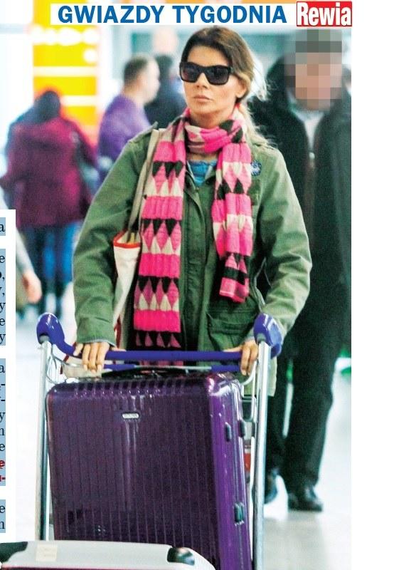 Edyta Górniak ostatnio poleciała sama do Tajlandii (Źródło: Rewia) /- /Rewia