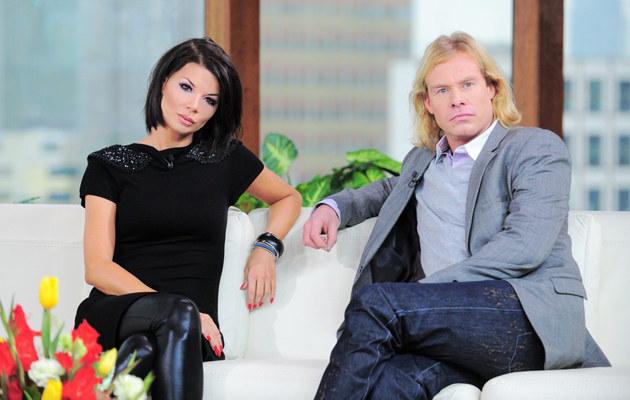 Edyta Górniak, Rinke Rooyens, fot.Wojciech Olszanka  /East News
