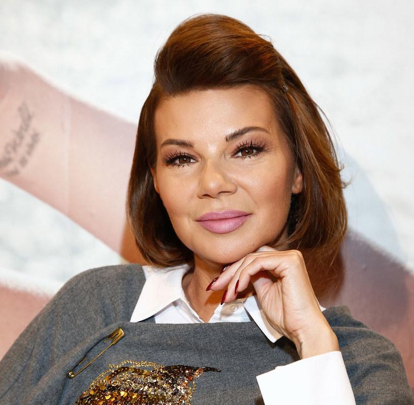 Edyta Górniak. Targi Beauty Forum /AKPA /AKPA
