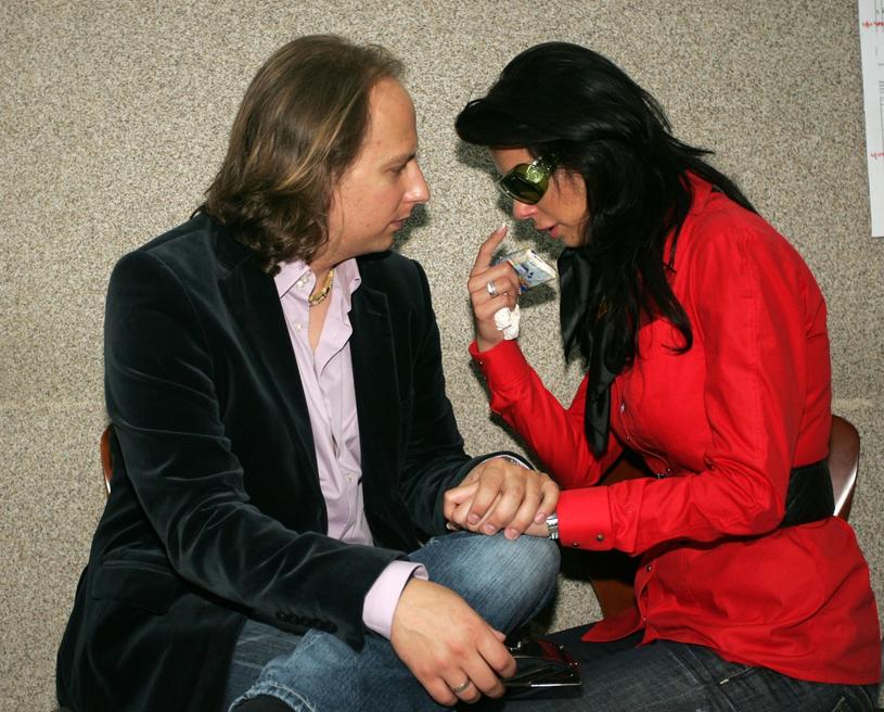 Edyta Górniak z byłym mężem, zdjęcie archiwalne/fot. Michał Wojciechowski /Reporter