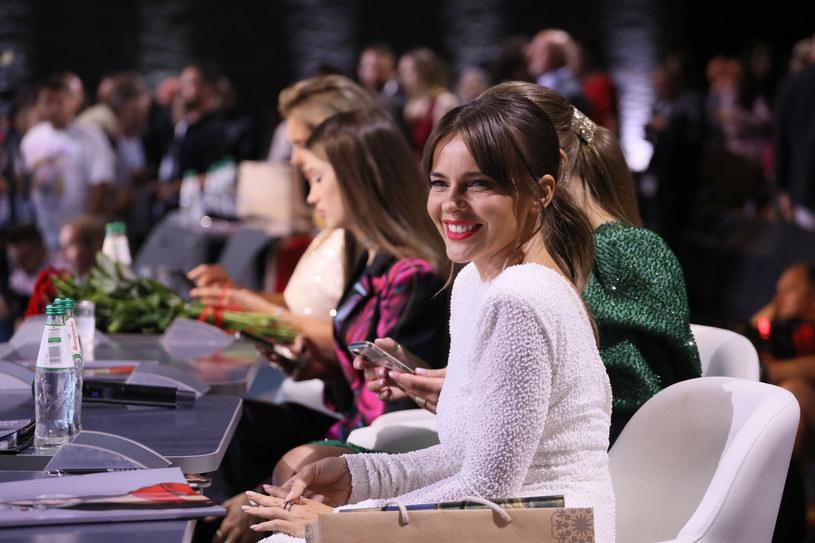 Edyta Herbuś podczas konkursu Miss Polski 2021 /Pawel Wodzynski/East News /East News