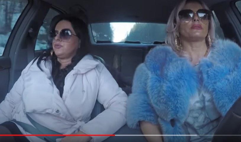"""Edyta i Dagmara w """"Królowych życia"""" /Screenshot z YouTube.com /materiał zewnętrzny"""