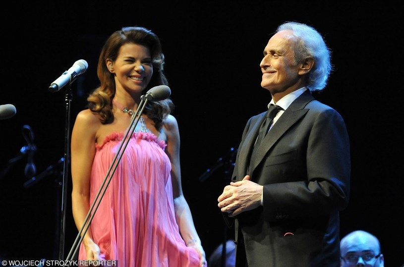 Edyta i Jose Carreras /- /East News