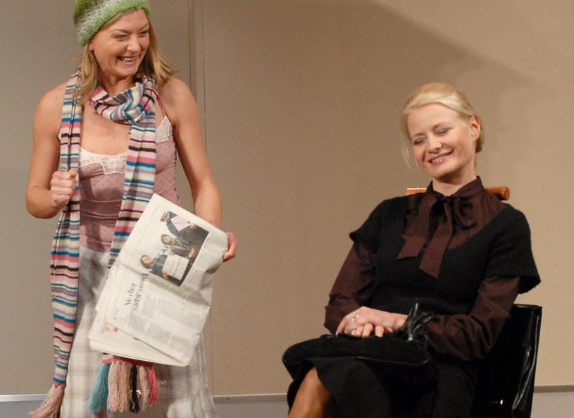 Edyta Olszówka i Małgorzata Kożuchowska /Tricolors /East News