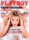 "Edyta Olszówka na okładce ""Playboy'a"" /INTERIA.PL"