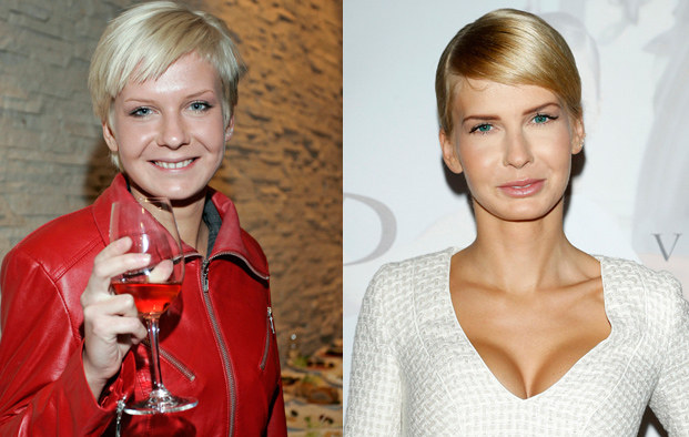 Edyta Pazura - 2008 i 2014 rok /Baranowski, Podlewski /AKPA