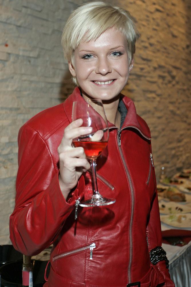 Edyta Pazura - 2008 r. /Baranowski /AKPA