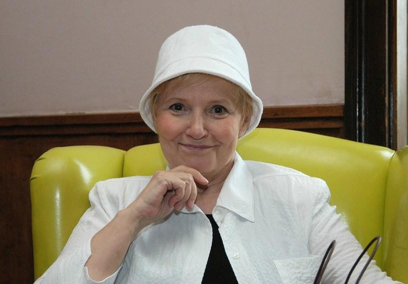 Edyta Wojtczak w 2005 roku /Mieczyslaw Wlodarski/Reporter /East News