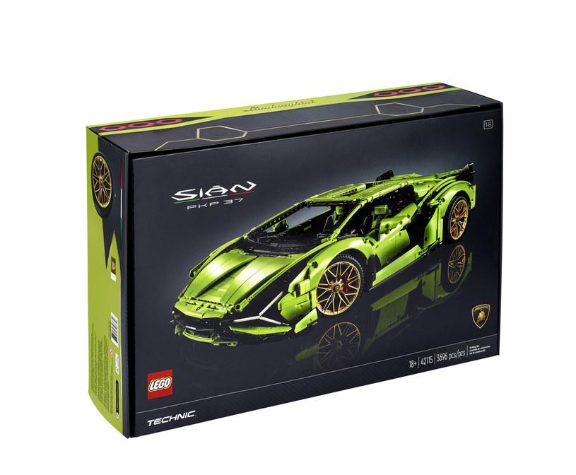 Efekt kooperacji Lego i Lamborghini pojawi się w sklepach już 1 czerwca /materiały prasowe