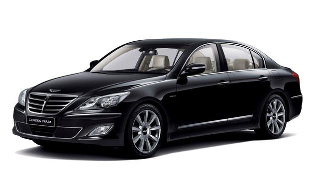 Efekt mariażu włoskiego domu mody i Hyundaia: Genesis Prada. Wersja tylko na rynki azjatyckie. /Hyundai