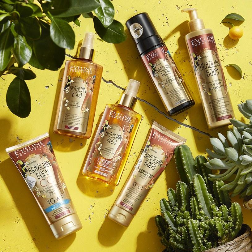 Efekt spektakularnej opalenizny od Eveline Cosmetics /INTERIA.PL/materiały prasowe
