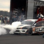 Efektowny wybuch silnika