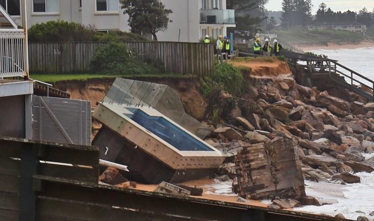 Efekty sztormu w Sydney /WILLIAM WEST / AFP /AFP