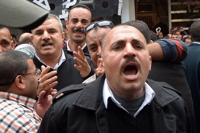 Egipcjanie reagują na zamach /AFP