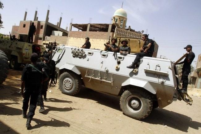 Egipscy żołnierze /STR /PAP/EPA