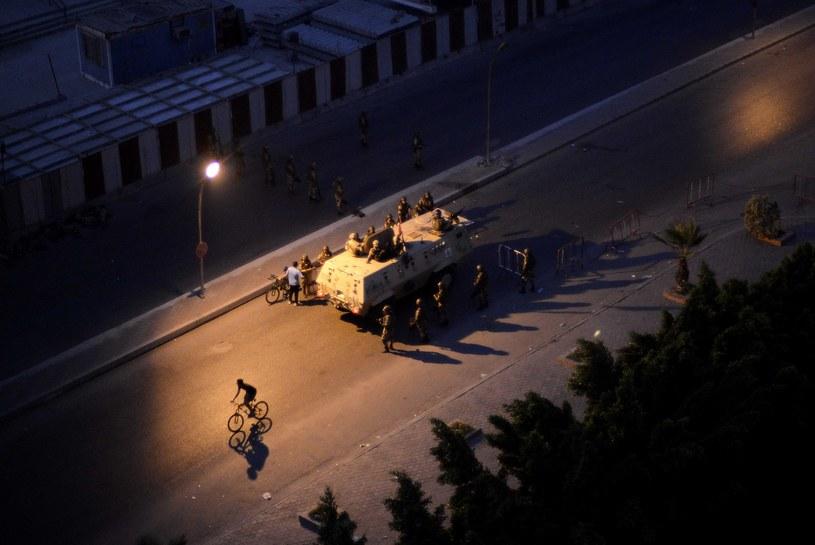 Egipska armia na ulicach Kairu /AFP