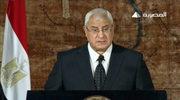 Egipt: Prezydent Mansur przyrzeka przywrócenie stabilności