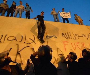 Egipt: Protest przed ambasadą USA przeciw filmowi obrażającemu proroka