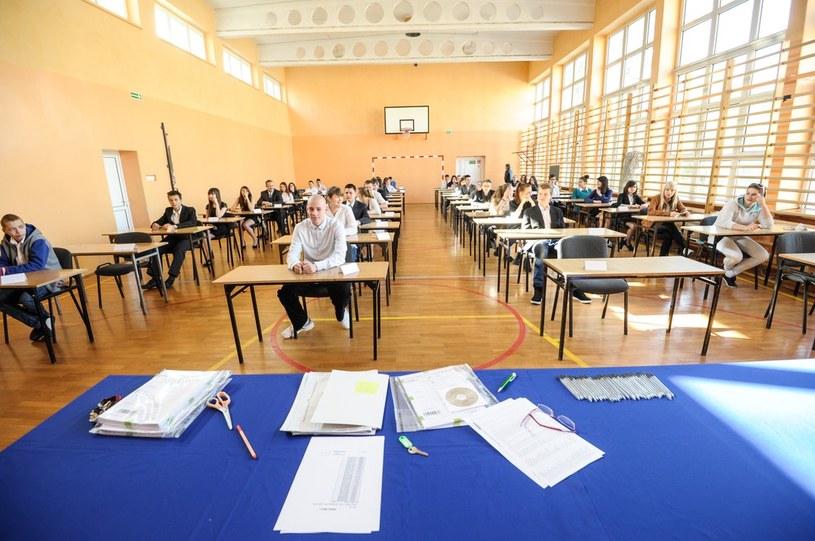 Egzamin gimnazjalny 2014 /Piotr Lampkowski /Reporter