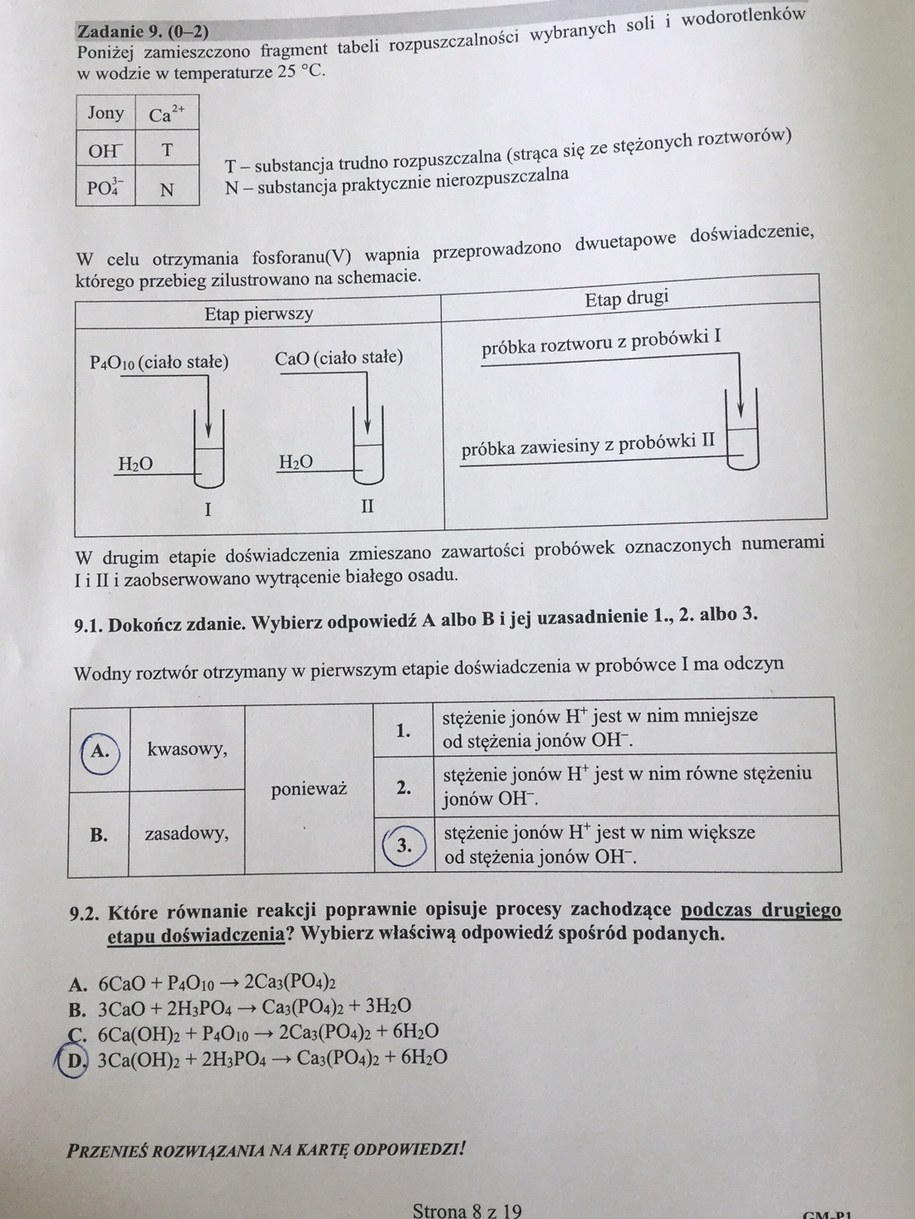 Egzamin gimnazjalny 2017. Przykładowe rozwiązania /RMF FM