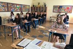 Egzamin gimnazjalny 2018: Drugiego dnia egzaminu jesteśmy w SP nr 16 w Lunblinie