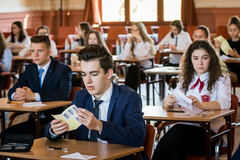 Egzamin gimnazjalny 2018 w jednej ze szkół w Bydgoszczy /TOMASZ CZACHOROWSKI/POLSKA PRESS /East News