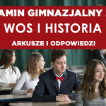 Egzamin gimnazjalny 2019. Historia, WOS - arkusz CKE i odpowiedzi