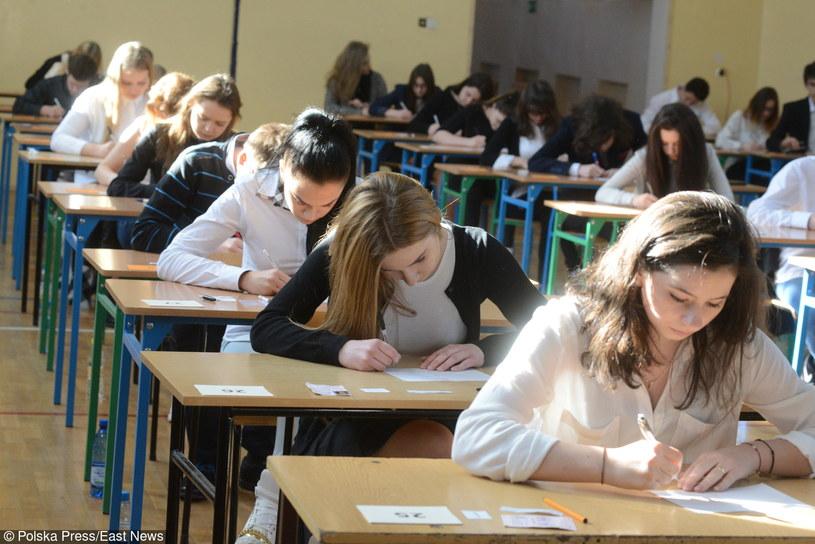 Egzamin gimnazjalny w Zielonej Górze /MARIUSZ KAPALA / GazetA LUBUSKA /East News