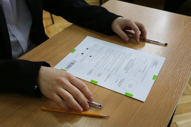 Egzamin gimnazjalny /Beata Zawrzel /Reporter