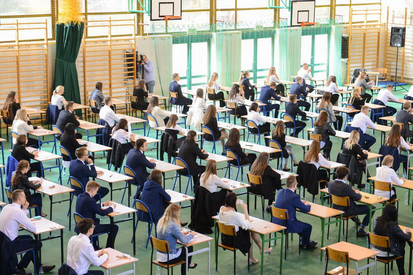 Egzamin maturalny w 2019 roku, zdjęcie ilustracyjne /Adam Staśkiewicz /East News