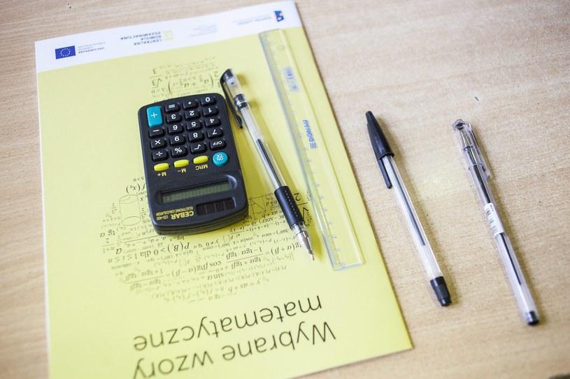 Egzamin maturalny z matematyki /Jakub Ociepa /