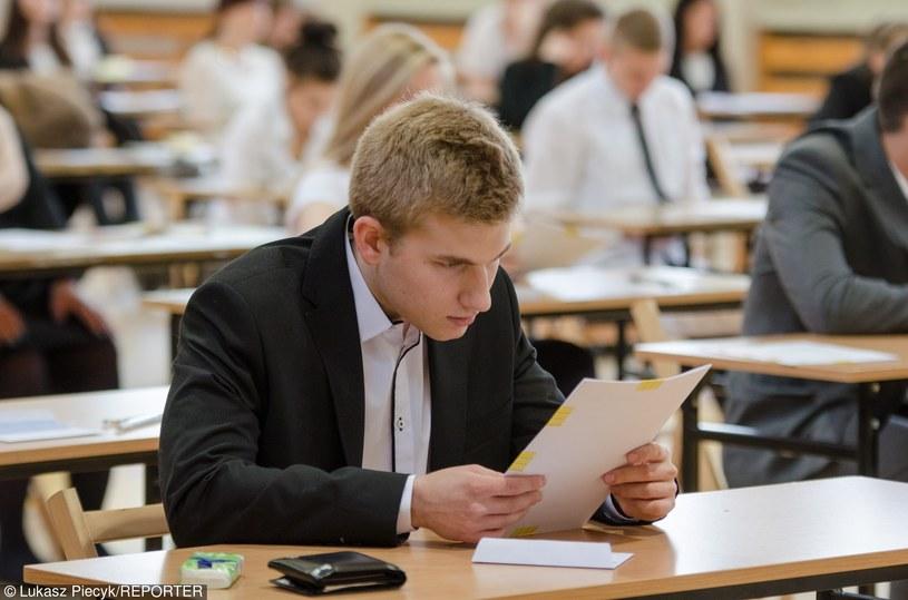 Egzamin maturalny / Zdj. ilustracyjne /Łukasz Piecyk /Reporter
