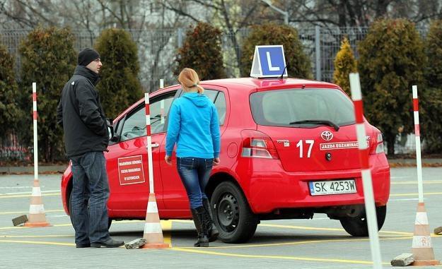Egzamin na prawo jazdy będzie droższy? Fot. Artur BARBAROWSKI /Agencja SE/East News