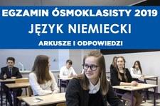 Egzamin ósmoklasisty 2019. Język niemiecki arkusz CKE i odpowiedzi