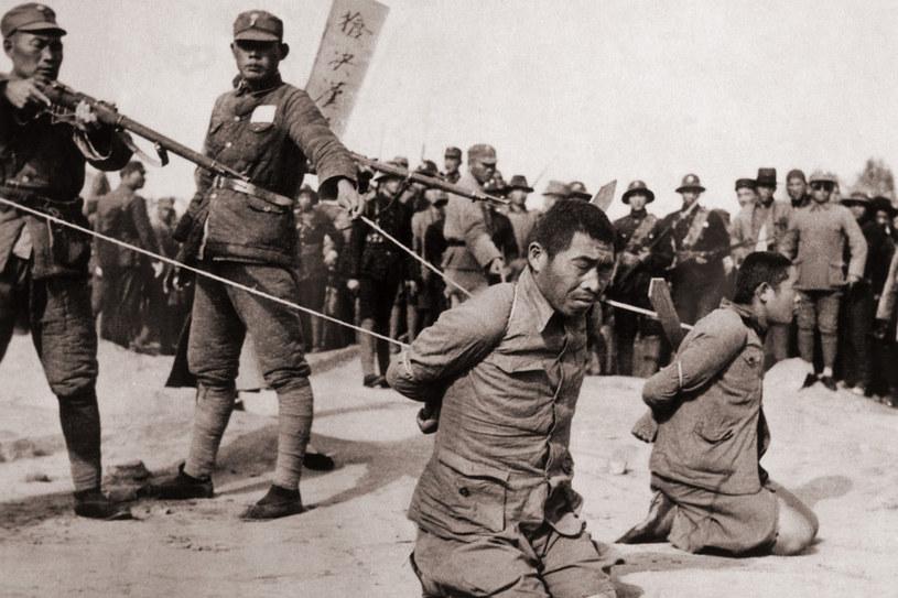 Egzekucja chińskich jeńców wojennych wziętych do niewoli przez 6. Dywizję Piechoty /INTERIA.PL/materiały prasowe