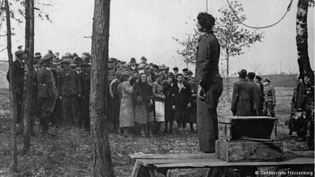 Egzekucja Juliana Majki. Zamordowano go za romans z Niemką /Deutsche Welle