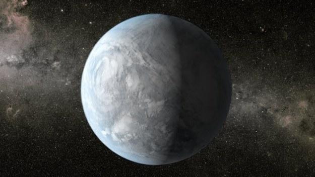 Egzoplaneta - wizja artysty /NASA